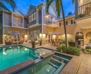 Hemingway Bay home surrounded by Old Naples magnificent historical view