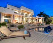 Old Naples Two-story residential house with magnificent view