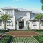 Claremont Inspired Luxury Home at Olde Naples Downtown.